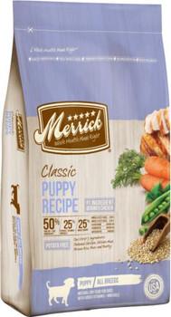 Merrick Classic Puppy Recipe 4lb C=6