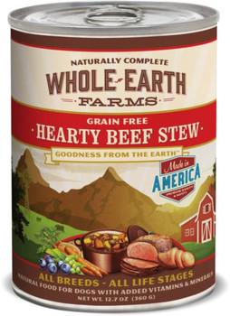 Merrick Whole Earth Farms Hearty Beef Stew 12/12.7oz