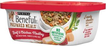 Beneful Prepared Meals Beef & Chicken Medley 8/10 oz. Pack