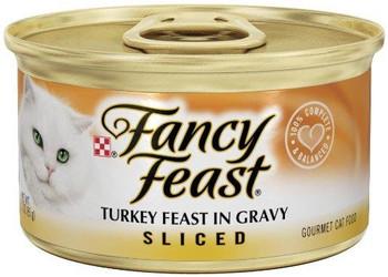 Fancy Feast Sliced Turkey Feast 24/3OZ