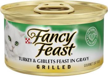 Fancy Feast Grilled Turkey/Giblets 24/3oz