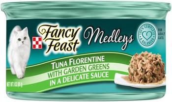 Fancy Feast Elegant Medley Tuna Florentine Feast 24/3OZ