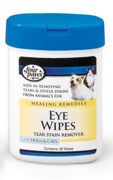 Four Paws Eye Wipes For Dogs & Cats 25ct