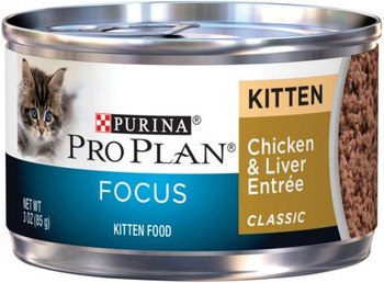 Pro Plan Chicken & Liver Entre for Kittens 24/3OZ