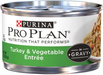 Pro Plan Turkey Vegetable Can Cat, 24/3 Oz