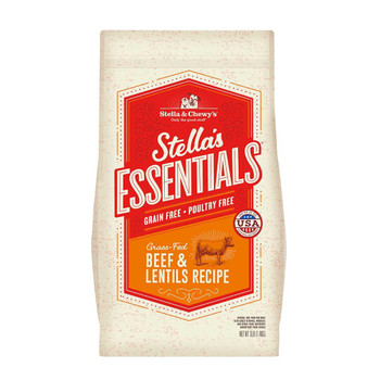 Stella & Chewy's Stella's Essentials Grass-Fed Beef & Lentils Dog Recipe - 25lb