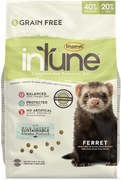 Higgins ntune Complete And Balanced Diet For Ferrets 4# C=6