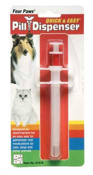 Four Paws Quick & Easy Pill Dispenser For Puppies / Small Animals