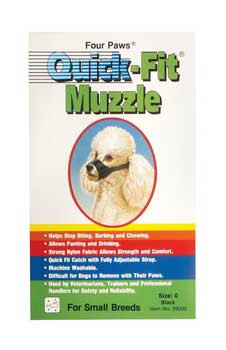 Four Paws Quick Fit Muzzle Size 0