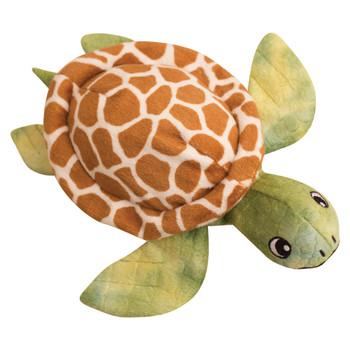 "Snugarooz Shelldon the Turtle Green Dog Toy-10"""