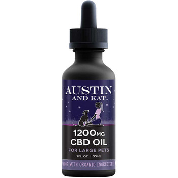 AUSTIN AND KAT DOG CAT COCONUT OIL 1200 MG 1OZ