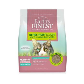 Earths Finest Ultra-Tight Clumping Cat Litter 3.6Lbs