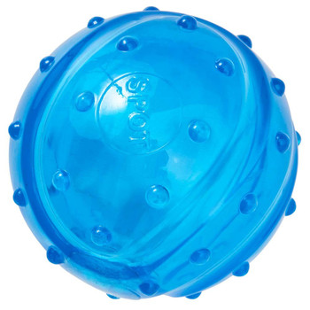 Ethical Play Strong Scent-Sation Dog Toy Ball Bacon 3.25in