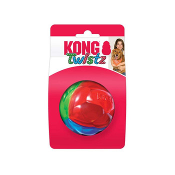 KONG Twistz Ball Dog Toy Small