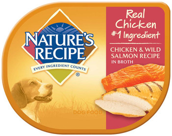 Nature's Recipe Wet Chicken & Salmon Recipe Wet Canned 24ea/2.75oz