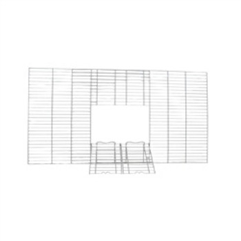 Vision Front Wire Grill W/doors L01/l02 {requires 3-7 Days before shipping out}