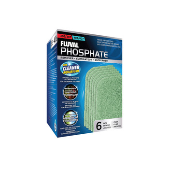 Fluval 307/407 Phosphate Remover Pad, 6 pcs