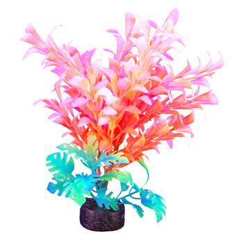 """Marina iGlo Plant White/Orange - Hygrophilia 7.5"""""""