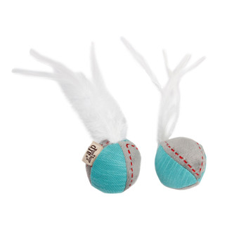 AFP Kitty Feather Ball Turquoise (2725)