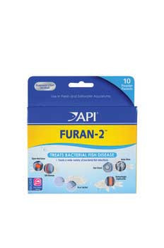 Aquarium Pharmaceuticals Furan-2 Powder Packet