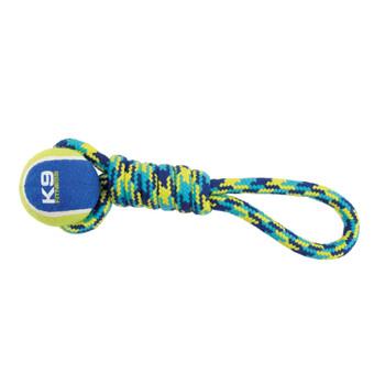 "Zeus K9 Fitness Ball Rope Tug 9"""