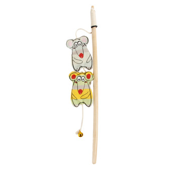 AFP Catoon Curious Mice Wand