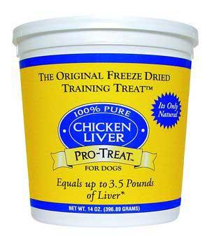 Gimborn Pro-treat Freeze Dried Chicken Liver Train-94957