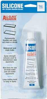 Aqueon AGA 100% Silicone Aquarium Sealant Clear 1oz