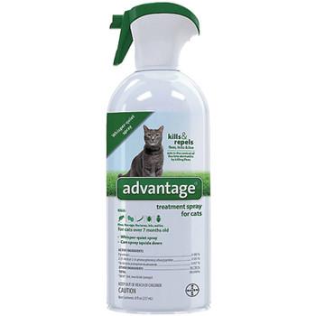 Advantage Cat Spray Flea & Tick 8oz