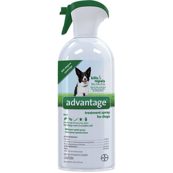 Advantage Dog Spray Flea & Tick 8oz