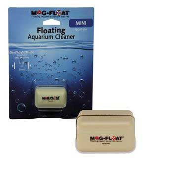 Gulfstream Mag-float Floating Magnet Aquarium Cleaner Glass/acrylic Mini 10 Gal