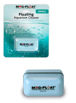 Gulfstream Mag-float Floating Magnet Acrylic Aquarium Cleaner Small 30 Gal