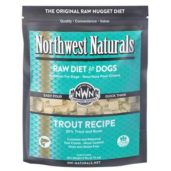Northwest Naturals Dog Frozen Nuggets Trout 6lb