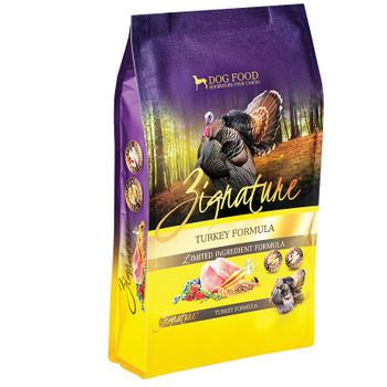 Zignature Dog Grain Free Turkey 4lb