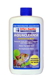 Dr. Tim's Aquatics AquaCleanse Tapwater Detoxifier for Freshwater 8 oz