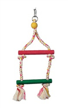 Lw Junglewood 2 Step Rope Ladder {requires 3-7 Days before shipping out}