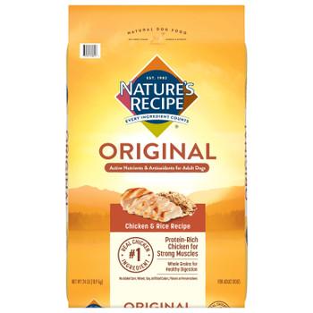 Nature's Recipe Original Chicken & Rice Dog Food 24 lb