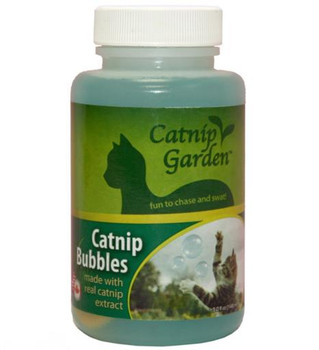 Multipet Catnip Garden Bubbles 5 oz