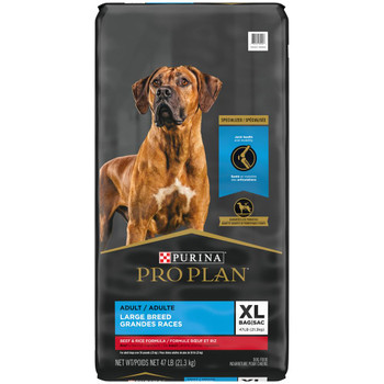 Pro Plan Specialized Beef & Rice Large Breed 47 lb
