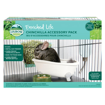 Oxbow Elife Chinchilla Accessory Pack