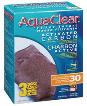 Aqua Clear 30 (150) Carbon 3pk{requires 3-7 Days before shipping out}