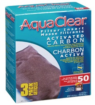 Aqua Clear 50 (200) Carbon 3pk{requires 3-7 Days before shipping out}