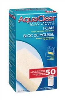 Aqua Clear 50 (200) Foam Filter Block {requires 3-7 Days before shipping out}