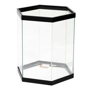 Aqueon Tank Hexagon Black 18x16x20 20 gallon SD-X Free Store Pick Up - NO SHIPPING