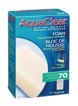Aqua Clear 70 (300) Foam Filter Insert{requires 3-7 Days before shipping out}