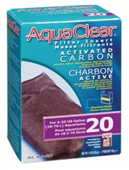 Aqua Clear 20 (mini) Act. Carbon Insert {requires 3-7 Days before shipping out}