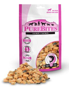 PureBites Salmon Cat or Dog Treats 1.16 oz