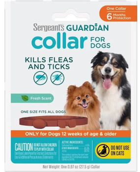 Guardian Flea & Tick Collar Dog 1 ct