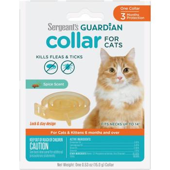 Guardian Flea & Tick Collar Cat 1 ct