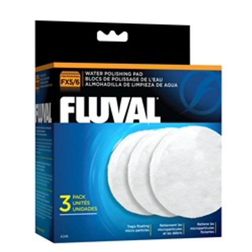 Fluval Water Polishing Pad 3-pk Fx5 {requires 3-7 Days before shipping out}